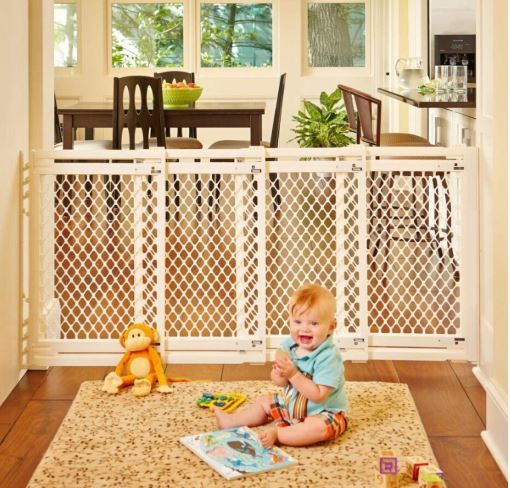 """North States 62"""" Extra-Wide ( Long baby gate )"""