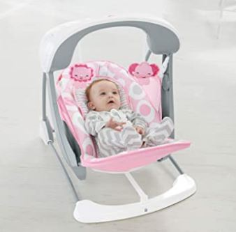 Fisher price travel swing Deluxe Take-Along Sway & Seat-amybabyreview