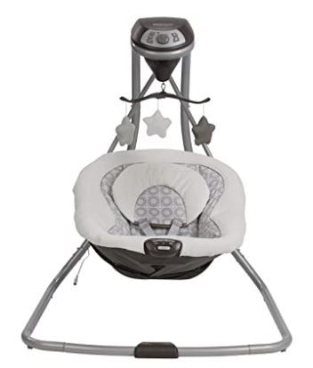 Best Baby swing for 30 pound babies - Graco Simple Sway