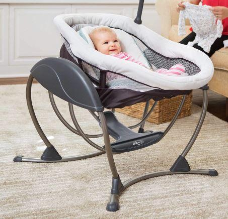 Colic baby swinging bed – Graco DuoGlider