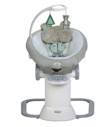 Colicky baby swing with removable rocker – Graco EveryWay soother