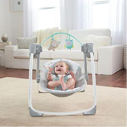 Ingenuity Comfort 2 Go (Best Cheap Baby Swing)