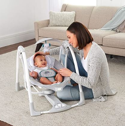 Ingenuity CovertMe (Best Affordable Baby Swing)