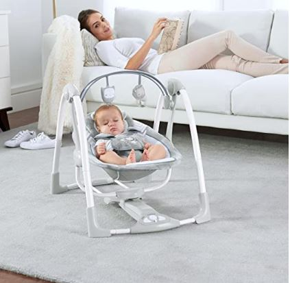 Ingenuity Power Adapt Portable Plug-in (Foldable Baby Swing)