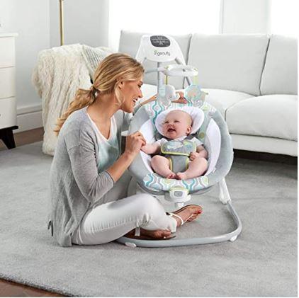 Ingenuity Simple Comfort Cradling (Space Saver Baby Swing)