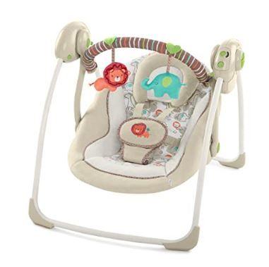 Ingenuity Cozy Kingdom Portable Swing 20 pounds Babies