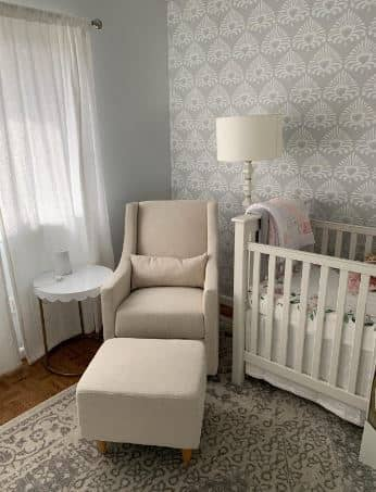 best glider for small nursery featured