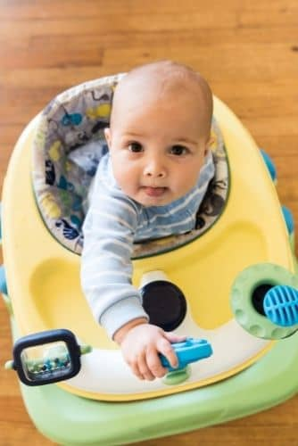 How Can You Keep Your Wood Floor Safe From The Wheels Of A Baby Walker