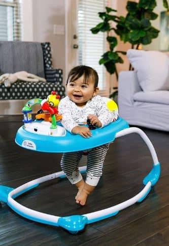 Features of baby Einstein walker